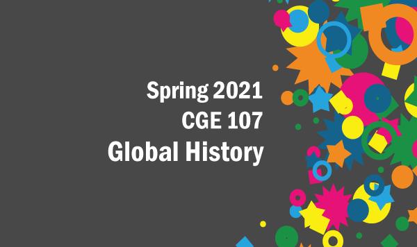 CGE 107 Global History (2021 Spring)